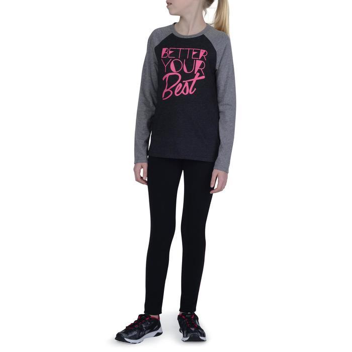 T-Shirt manches longues imprimé Gym fille - 1191095