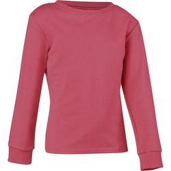 100 女童健身房運動衫粉紅色