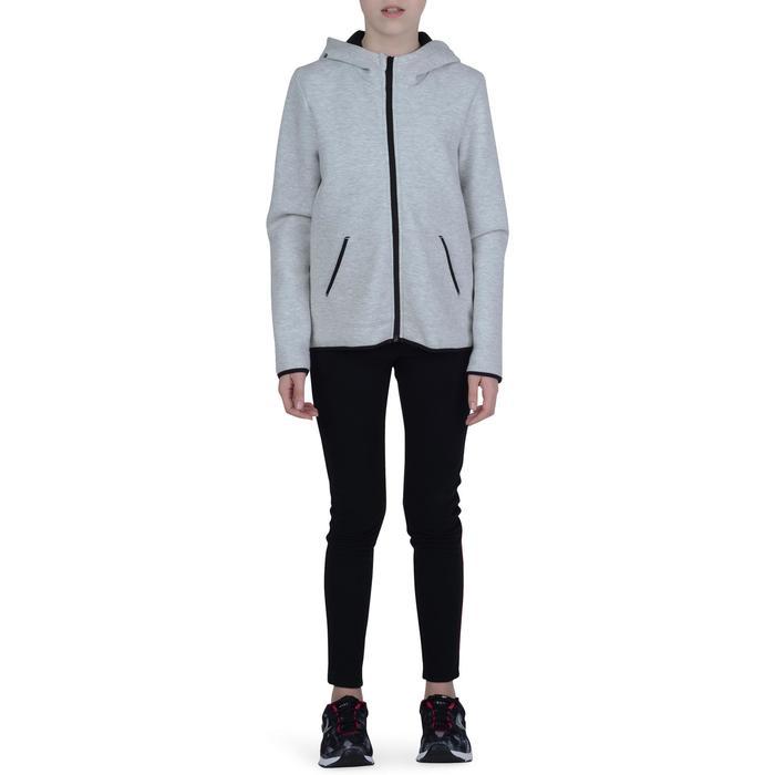 Veste chaude zippée capuche imprimé Gym fille - 1191112