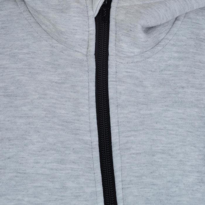 Veste chaude zippée capuche imprimé Gym fille - 1191117