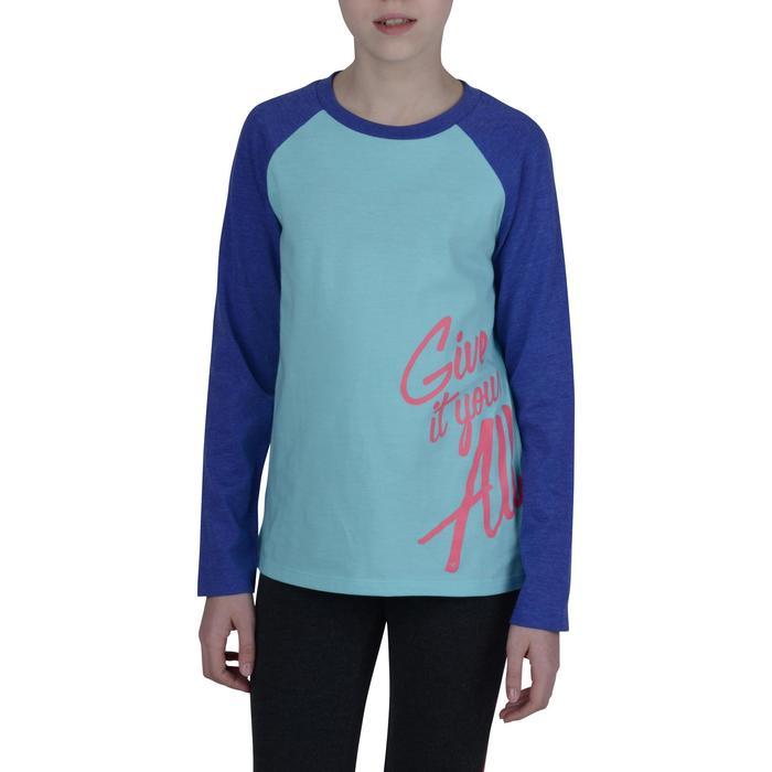 T-Shirt manches longues imprimé Gym fille - 1191118