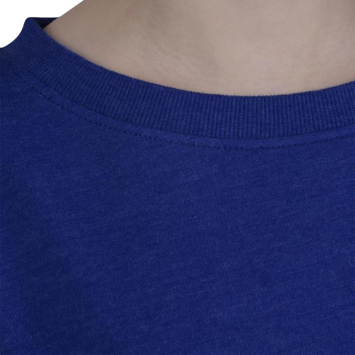 Sweat 100 Gym Fille bleu