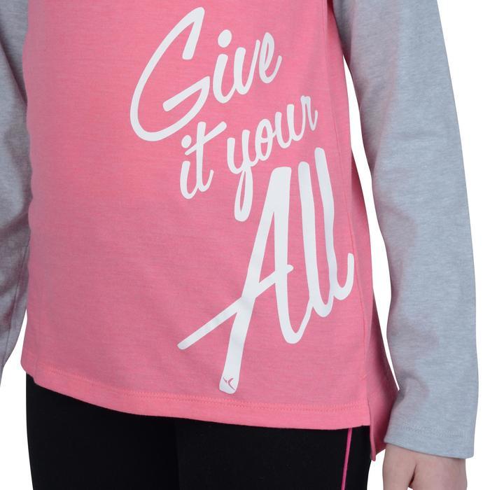 T-Shirt manches longues imprimé Gym fille - 1191123