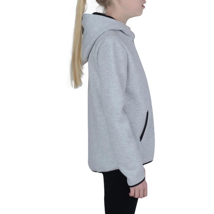 Veste chaude zippée capuche imprimé Gym fille - 1191127