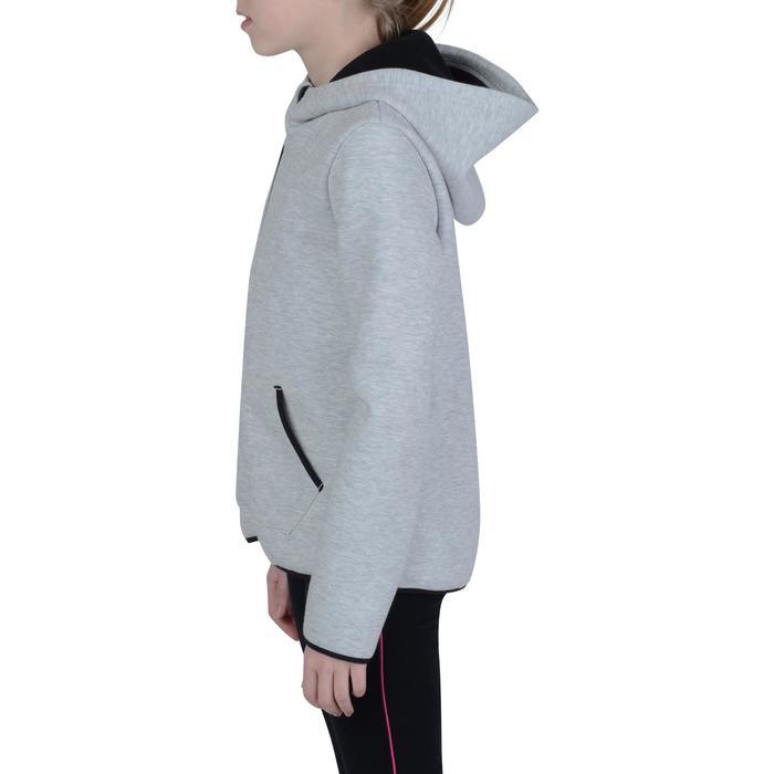 Veste chaude zippée capuche imprimé Gym fille - 1191141