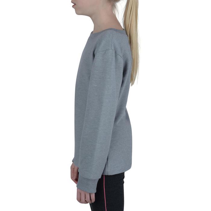 Sudadera 100 gimnasia niña gris