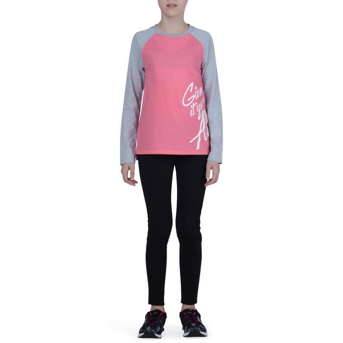 T-Shirt manches longues imprimé Gym fille - 1191173