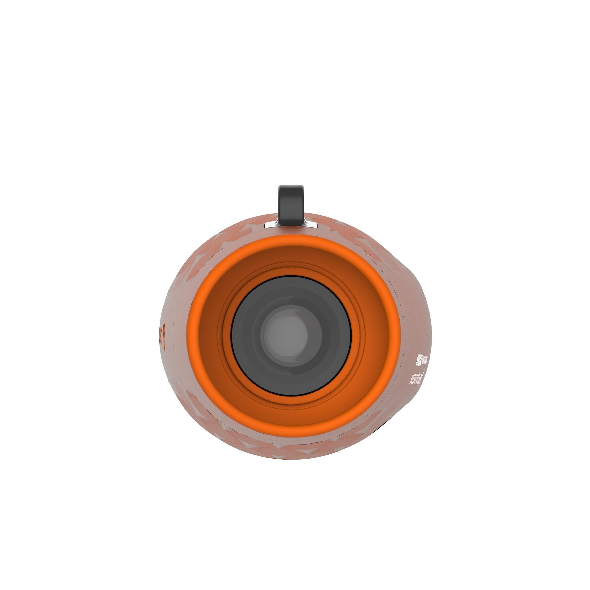 MH M 100 Fixed Focus Children's Hiking x6 Magnification Monocular - Orange