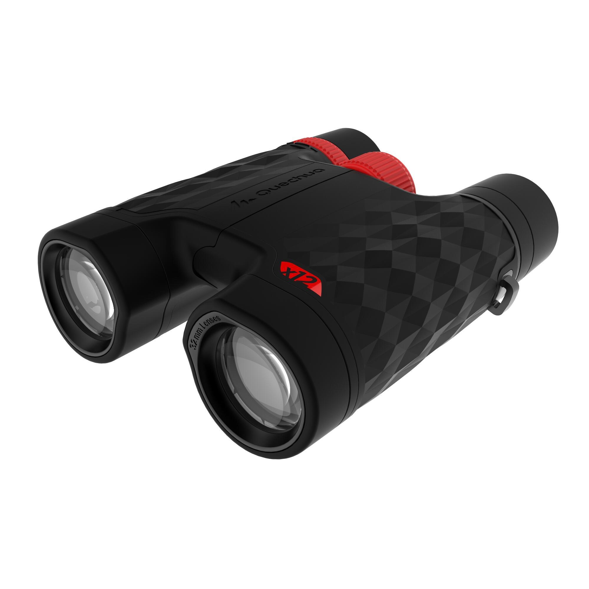 Binoculares travesía adulto aumento x12 con ajuste B900 negro