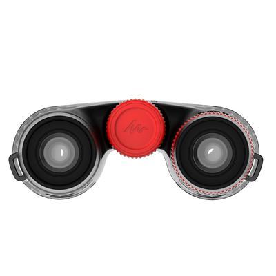 Binoculares para excursionismo adulto aumento 12x con ajuste, negro