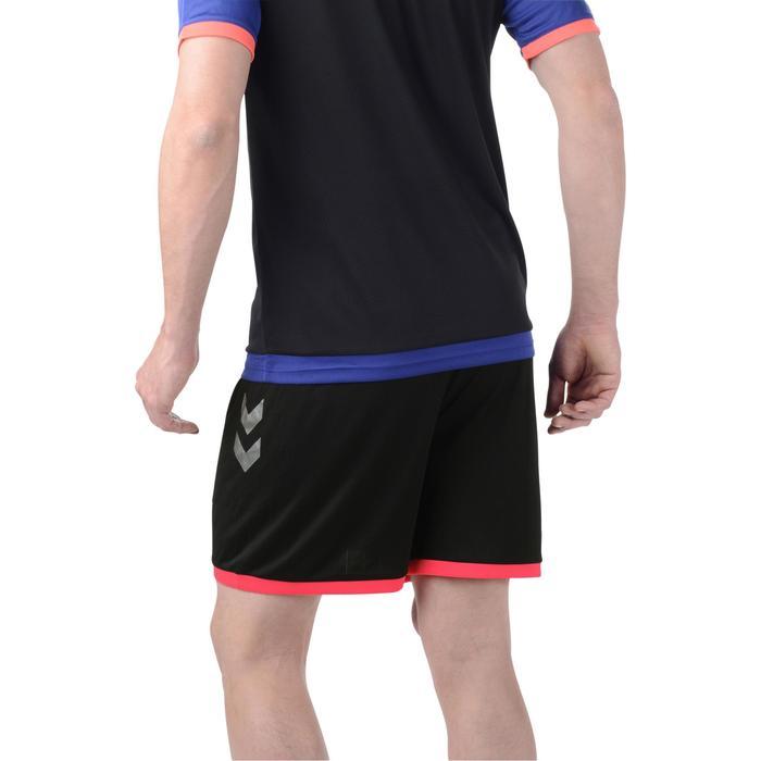 Short de handball Hummel Campaign homme noir, rose, chevrons argent 2017 - 1191260