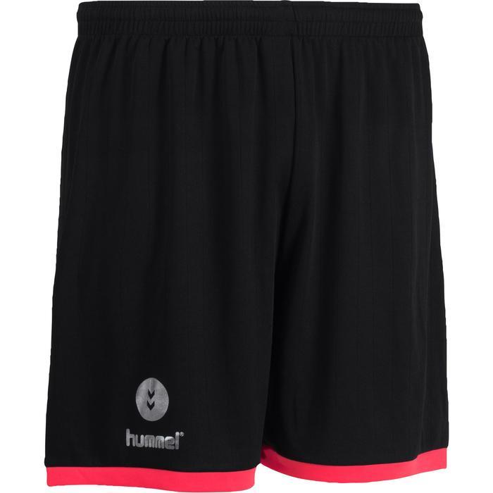 Short de handball Hummel Campaign homme noir, rose, chevrons argent 2017 - 1191262