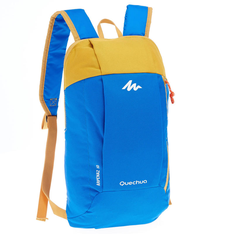 NH100 10-L HIKING BACKPACK  BLUE YELLOW