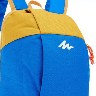 Arpenaz 10 L Day Hiking Backpack - Blue/Yellow