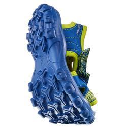Sandalias de senderismo júnior MH100 KID azul