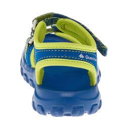 MH100 Kid's hiking sandals kid blue