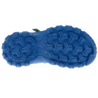 MH100 Kid's Hiking Sandals Blue