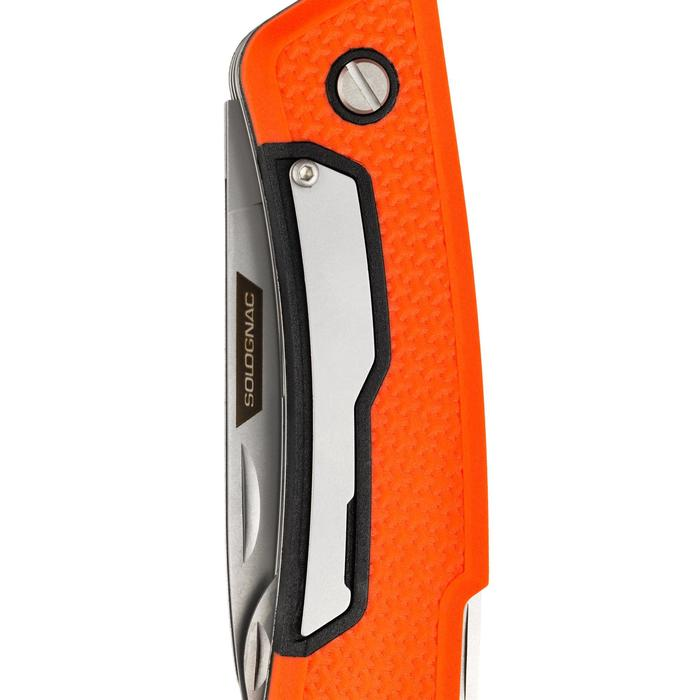 Couteau chasse multifonctions X7 Orange