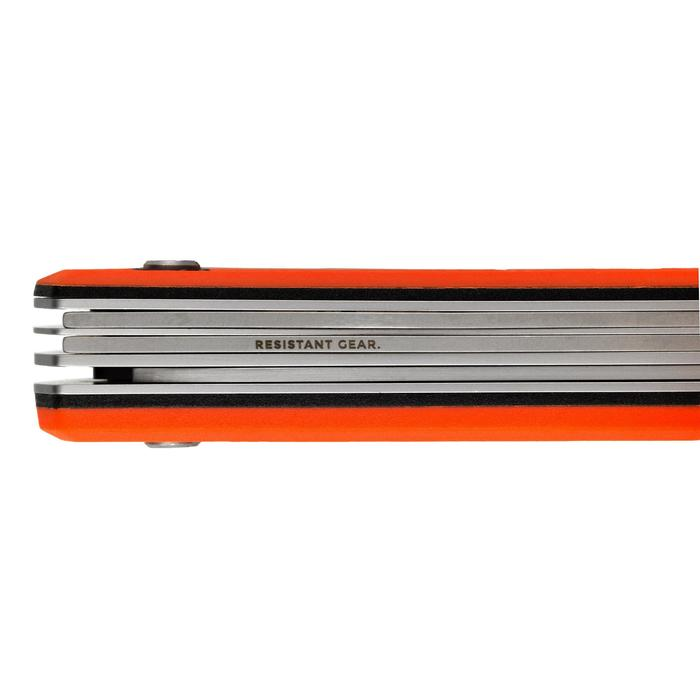 Couteau multifonctions x7 Grand Gibier Orange