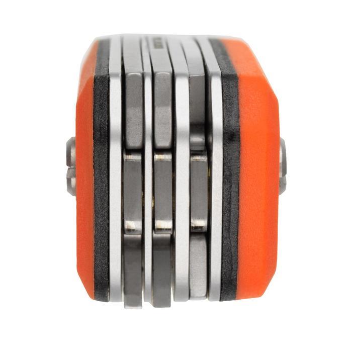 Multifunctioneel zakmes voor de jacht X7 oranje