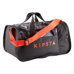 Kipocket Team Sports Bag 20 Litres - Grey/Red