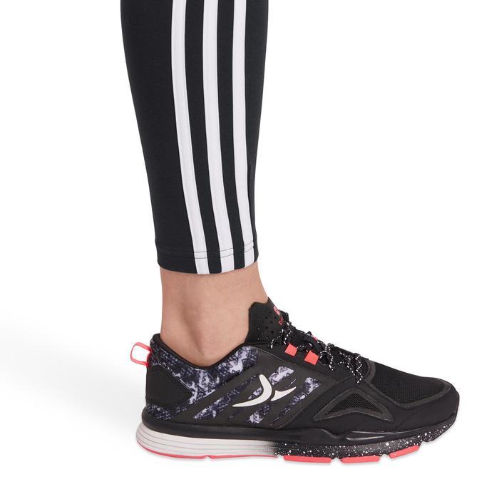 Legging Adidas 500 slim Gym Stretching femme noir et blanc - 1191411