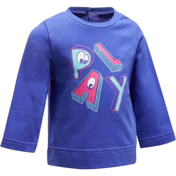 520 Baby Gym Sweatshirt - Blue Print - 1191581