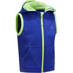 Baby 560 Hooded Sleeveless Gym Jacket - Blue