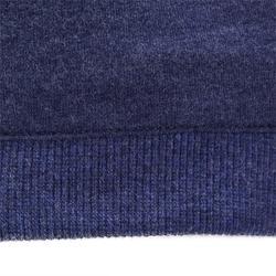 Chaleco cálido con cremallera y capucha gimnasia infantil azul