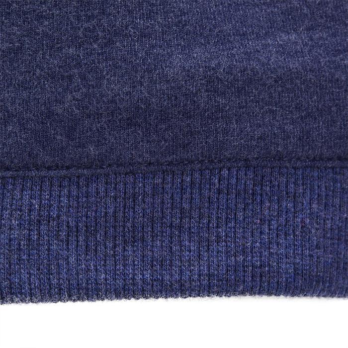 Veste chaude sans manches zippée capuche Gym baby bleu - 1191637
