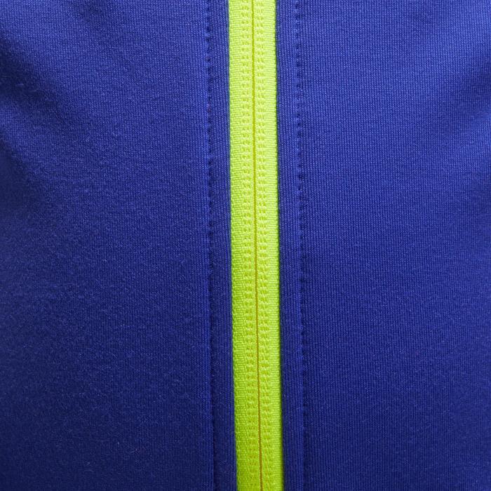 Chaqueta 560 gimnasia infantil capucha azul