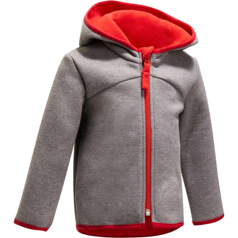 BABY GYM APPAREL - Gym Warm Zip-Up Jacket DOMYOS