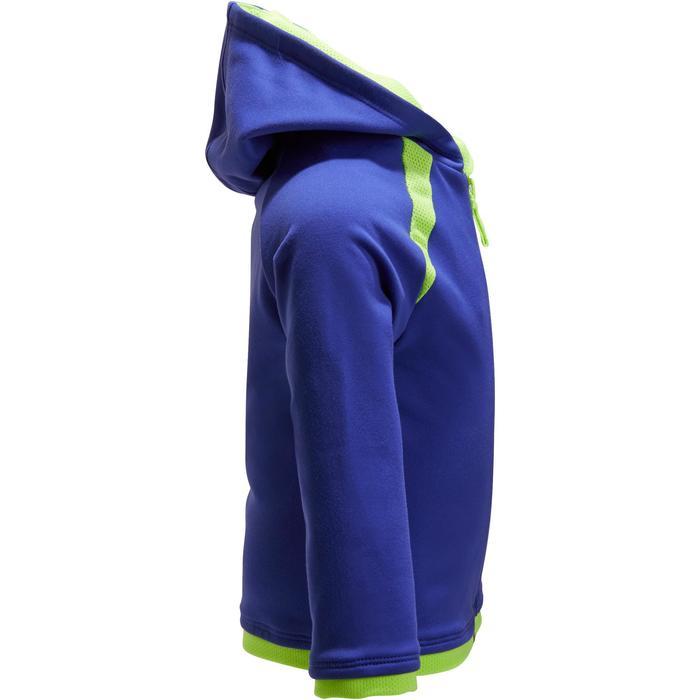 Veste 560 Gym Baby capuche bleu