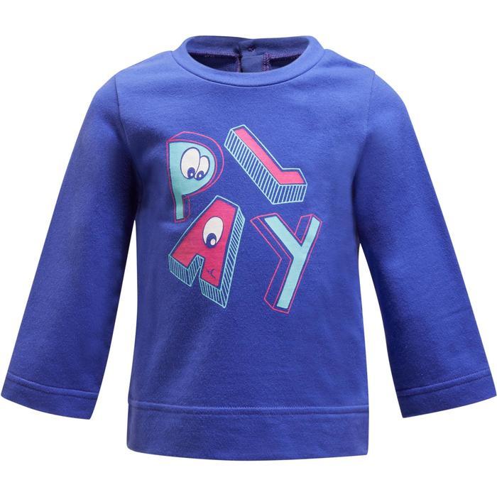 520 Baby Gym Sweatshirt - Blue Print - 1191776