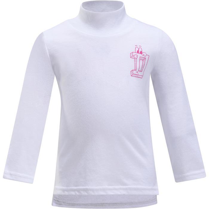 Lot x2 T-Shirt manches longues col montant imprimé Gym baby - 1191799