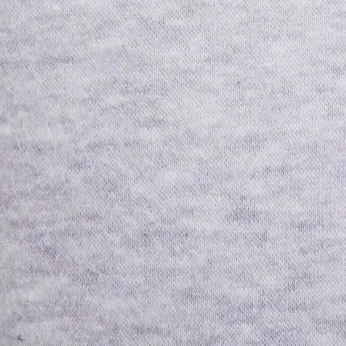 Sudadera 100 gimnasia infantil estampado gris