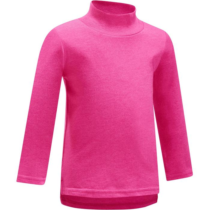 Lot x2 T-Shirt manches longues col montant imprimé Gym baby - 1191883