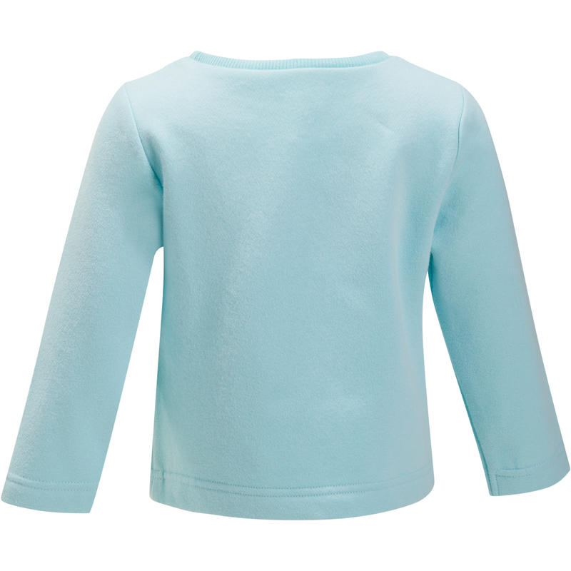Baby Warm Gym Sweatshirt - Blue Print