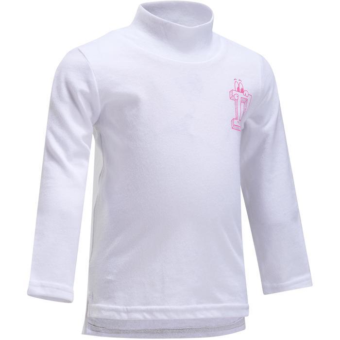 Lot x2 T-Shirt manches longues col montant imprimé Gym baby - 1191924