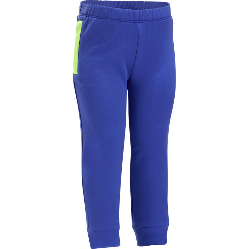 Pants 560 cálido de gimnasia infantil azul