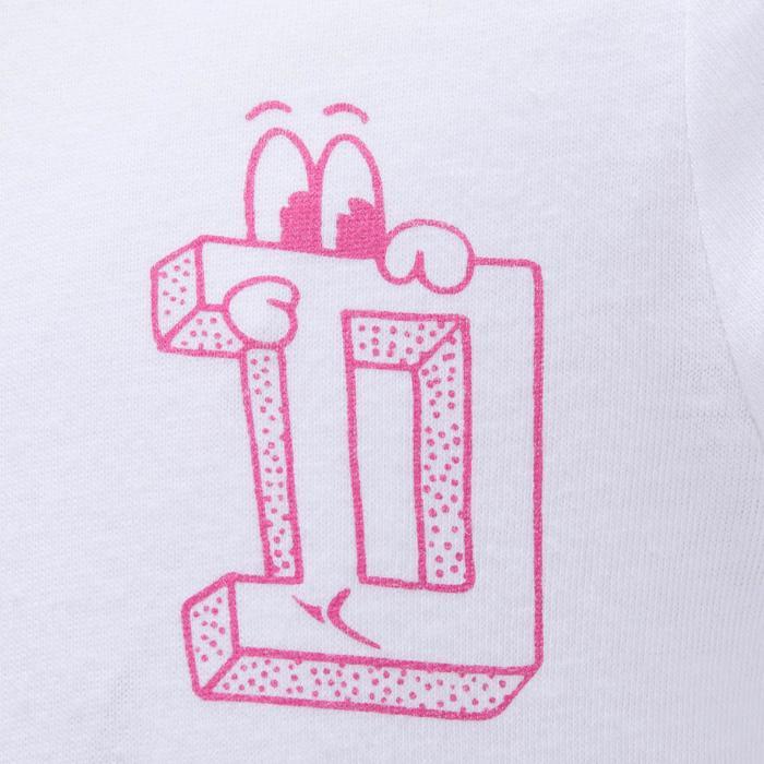Lot x2 T-Shirt manches longues col montant imprimé Gym baby - 1191964