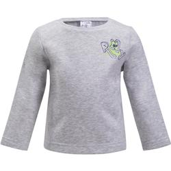 Sweat 100 Gym Baby imprimé gris