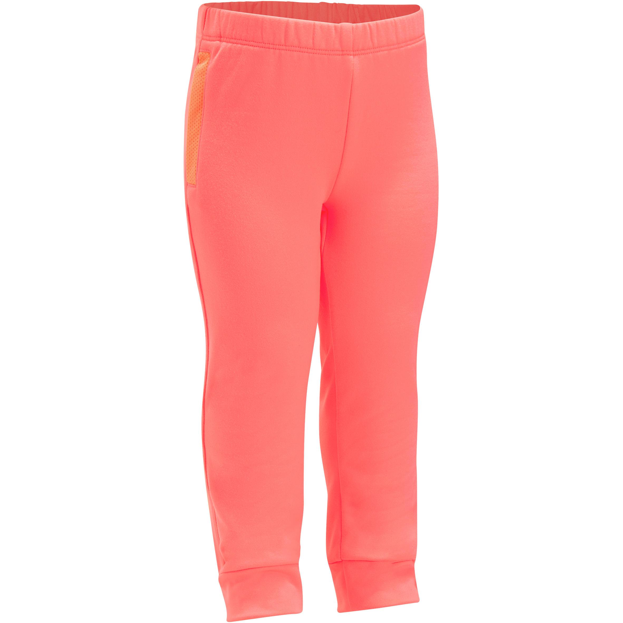 Pants 560 cálido gimnasia infantil rosa