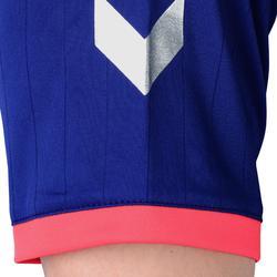 Camiseta balonmano Hummel Campaign H negro/azul/rosa, espiguillas plateado 2017