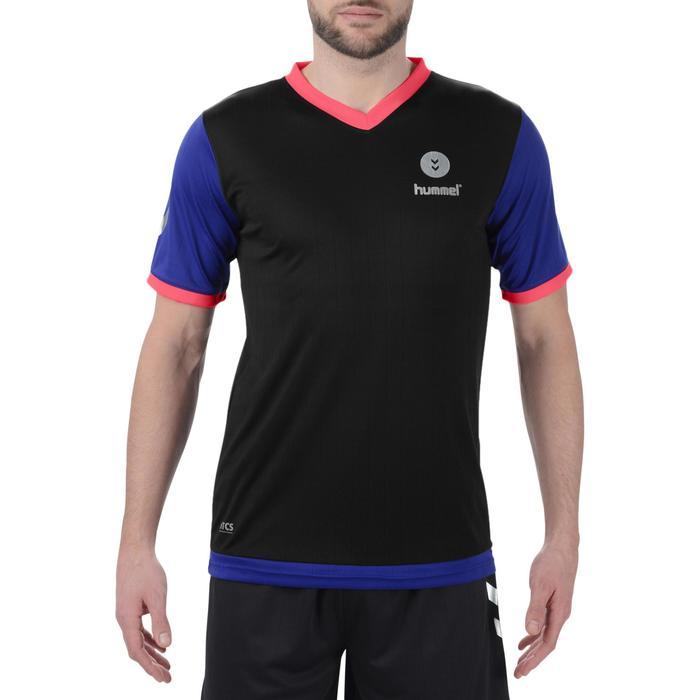 Camiseta de Balonmano Hummel Campaign Hombre Negro Azul