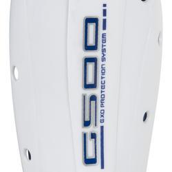 Scheenbeschemer G500 veldhockey volwassenen grijs - 1192196