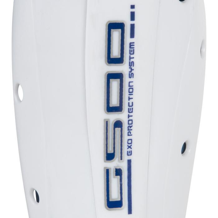 Protège tibia hockey sur gazon G500 adulte - 1192196