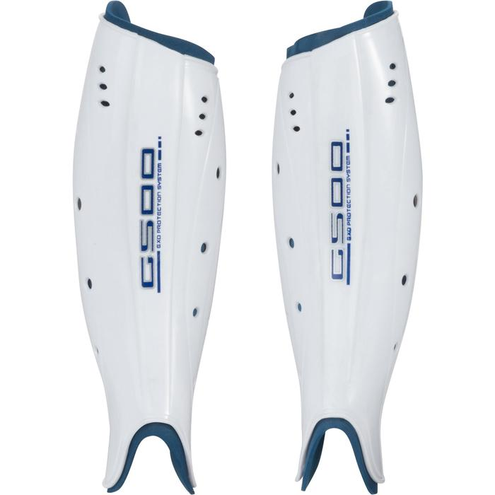 Protège tibia hockey sur gazon G500 adulte - 1192198
