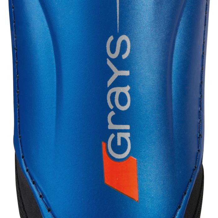 Scheenbeschermer voor veldhockey lichte intensiteit volwassenen Shield blauw
