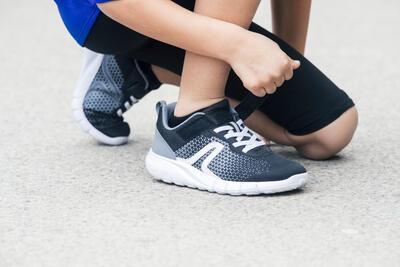 נעלי הליכה ספורטיביות לילדים דגם Soft 140 - שחור